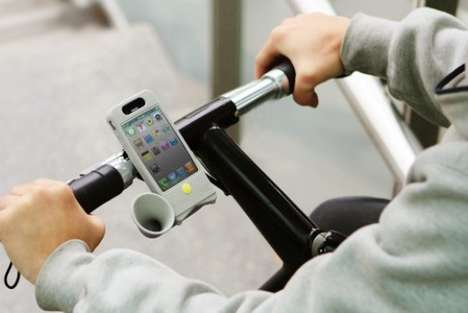 Bicycle Stereo Speakers