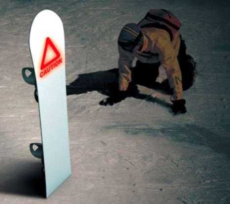 Lifesaving Snowboard Signals
