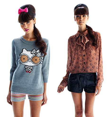 Cute Kitty Collaborations - The Forever 21 for Hello Kitty Collection is Sure to be a Hit