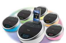 Hue-Shifting MP3 Pods