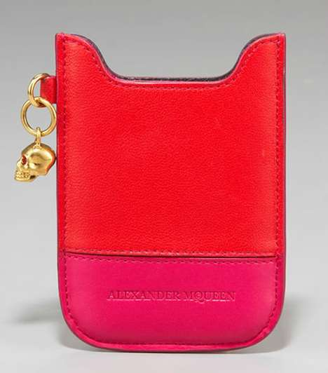 Couture Phone Cases - The BlackBerry Holder by Alexander McQueen is the New Chic Cell Protector