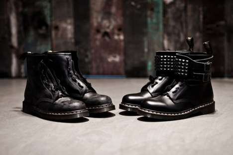 Cultivating Charity Footwear : Zouk x Dr Martens Custom 1461