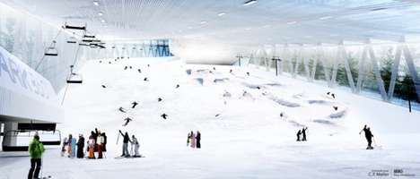 Mammoth Indoor Ski Slopes