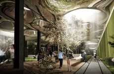 Below-Ground Public Gardens - The Delancey Underground Turns Old Subway Tunnels into New Parks