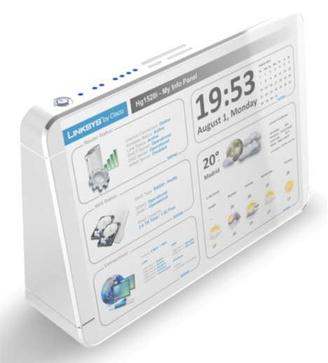 Touchscreen Wireless Routers