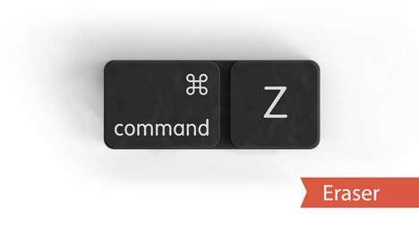 Tangible Keyboard Shortcuts