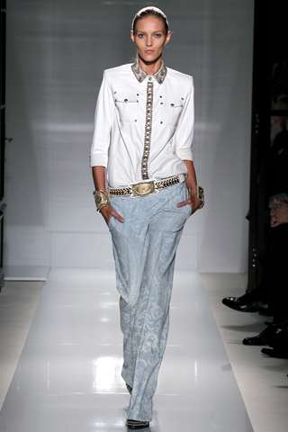 The Balmain Spring 2012 Collection Adds a Rock & Roll Touch to Basics