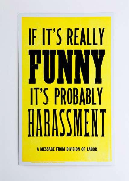 Blunt Workplace Prints