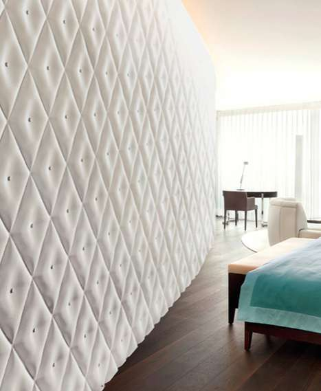 Tangibly Texturized Walls - The 3D Surface Wall Panels are Dynamic Dimensional Decor