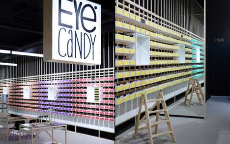 Packaging-Infused Interiors