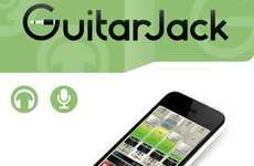 Smartphone Studio Rigs - The Sonoma GuitarJack Model 2 Helps You Get Creative On-the-Road
