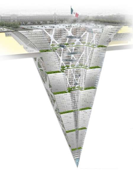 The Earthscraper Will be Mexico City's Largest Subterranean Structure