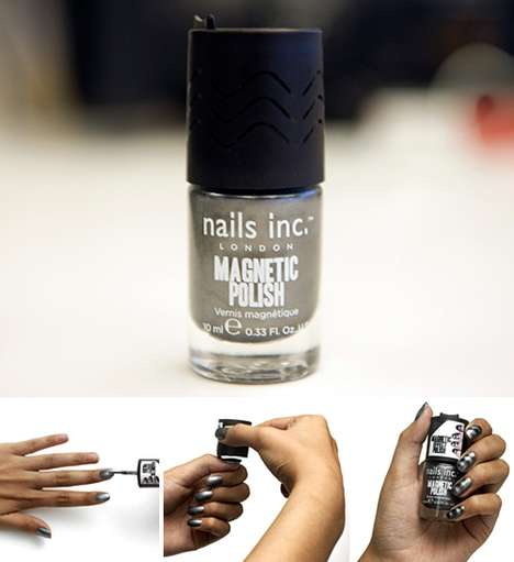 Magnificent Magnetic Nail Art