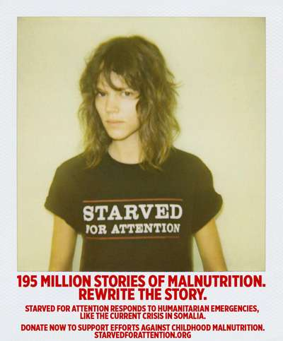 Supermodel Starvation Awareness