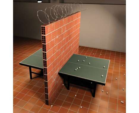 10 Atypical Ping Pong Tables
