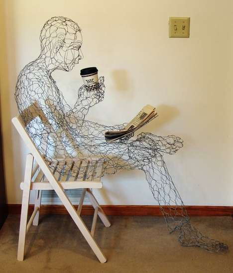 Manly Wired Sculptures
