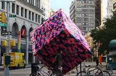 Yarn-Swathed Sculptures