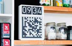QR Code Chronographs - Clocks for Robots Can Be Read and Interpreted by Artificial Eyes