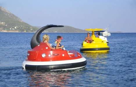 Open Water Bumper Boats