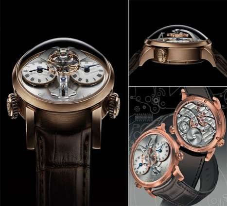 Exquisite Exposed Timepieces