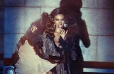 Shadowy Siren Shoots - The Wonderland Magazine Chanel Iman Pictorial Flashes Tom Ford Fashion