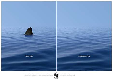 The WWF's 'Horrifying' Campaign is To-the-Point