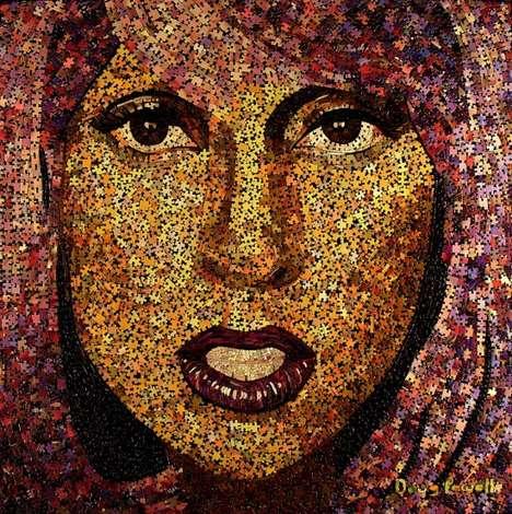Puzzled Pop Star Mosaics