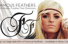 Feral Fashion Shops - DIY Hair Feather Extensions by Famous Feathers Keep Your Look Modern