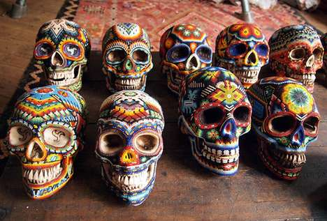 Multi-Colored Corpse Art