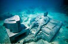 Buried Marine Museums (UPDATE) - The Jason deCaires Taylor Underwater Sculptures are Impressive