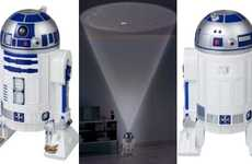 Sci-Fi Constellation Projectors - Homestar R2-D2 Planetarium Brings Glimmering Skies to the Home