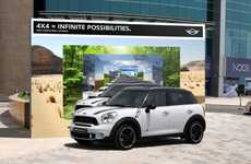 Adventurous Automobile Ads - The Mini Countryman 'Infinite Possibilities' Campaign has Potential
