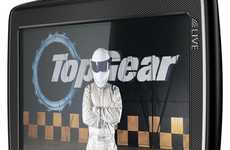 Celebrity GPS Systems - The TomTom Go Live Top Gear Edition Offers Directions from 'The Stig'