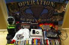 Boot Camp Distractions - Operation Supply Drop Donates Video Games to Deployed Soldiers