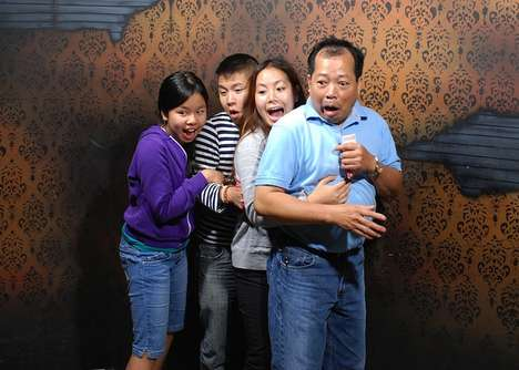 The Nightmares Fear Factory Campaign Presents Frightened Faces