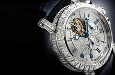 Neo-Nautical Diamond Watches - The Breguet 5839 Marine Tourbillon is Luxe Enough for the Yacht