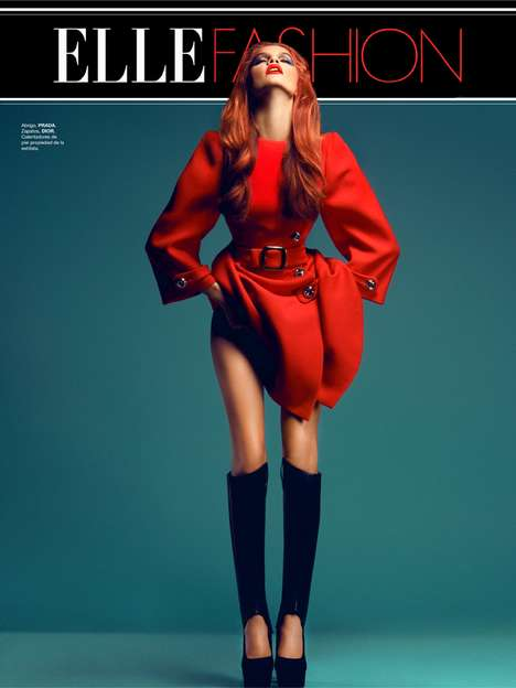 Elegant Hot-Blooded Editorials