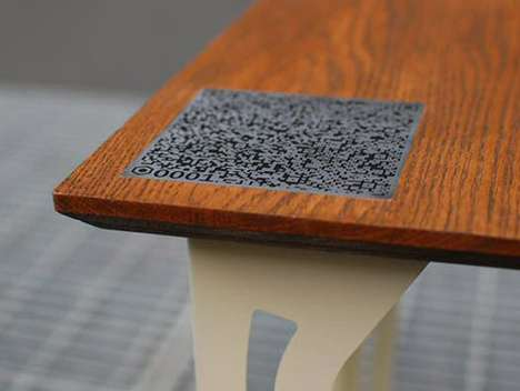 Code-Embedded Coffee Tables