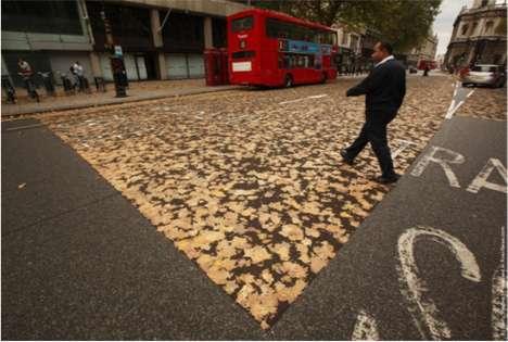 Leaf-Carpeted Lanes
