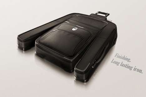 Clothing-Shaped Suitcase Campaigns