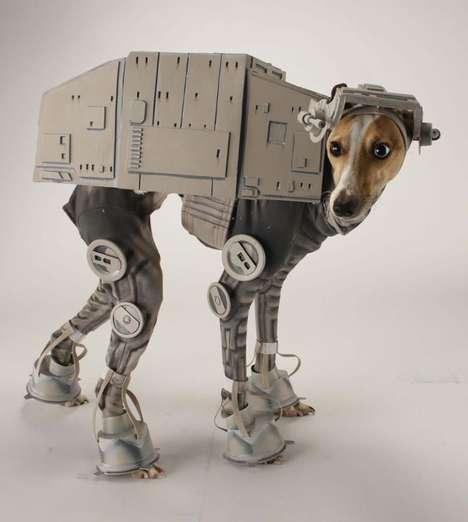 Sci-Fi Canine Cosplays