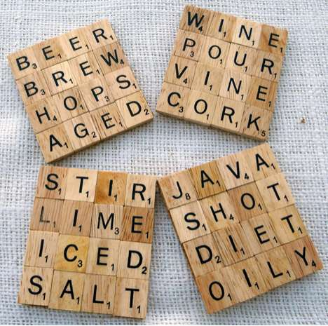 Word Scramble Mug Mats