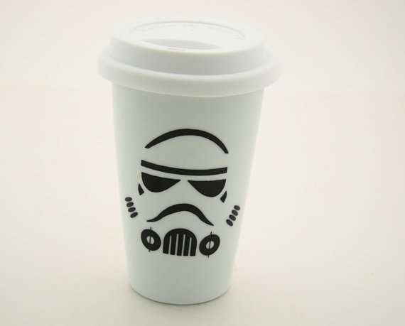 Imperial Coffee Stormtrooper Mug Travel CupsStar Wars Guard vm8n0wNO