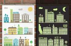 Binary City Posters