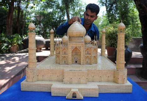 Magnificent Matchstick Replicas