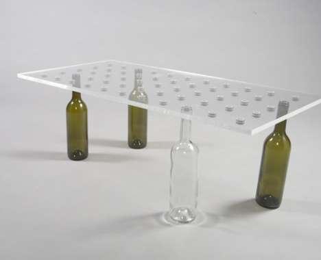 12 Upcycled Wine Bottle Innovations