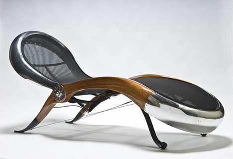 Sleek Aviation Furniture