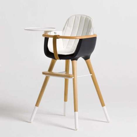 Classy Baby Boosters - The Ovo High Chair is Designed to Grow with Your Child