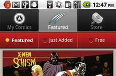 Superhero Smartphone Apps - Marvel Comics App Lets Fans Download Issues Straight to the Mobile