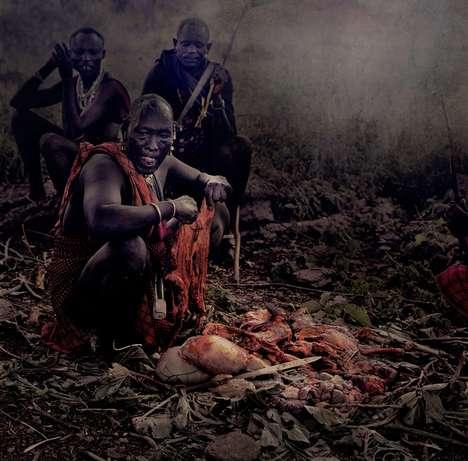 Striking Tribal Shoots